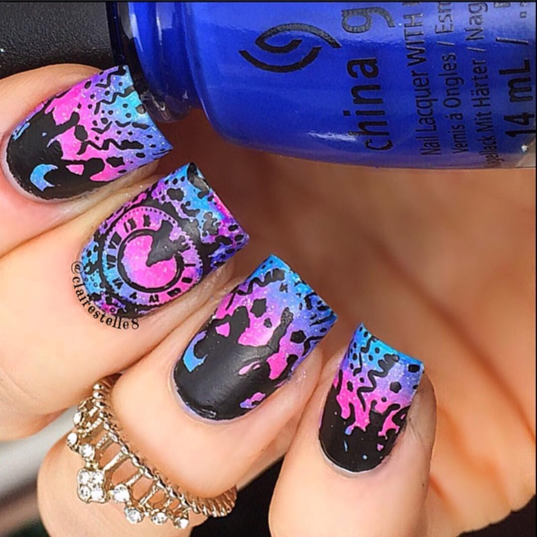 Pin by ✧ Genevieve ✧ on ♛ Beauty ♛ | Pinterest | Tie dye nails