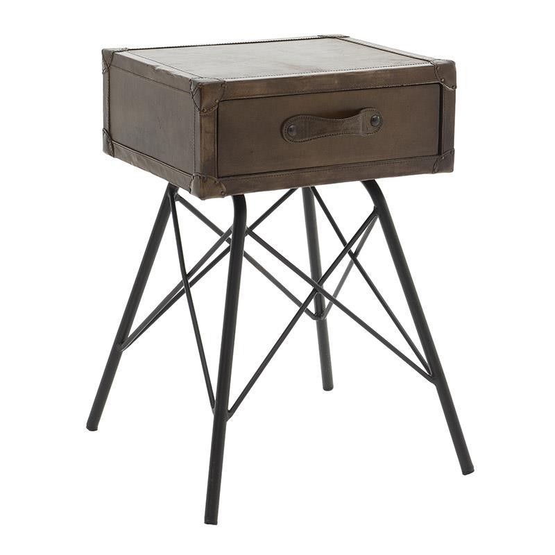 Leather Stool - Stools - FURNITURE - inart