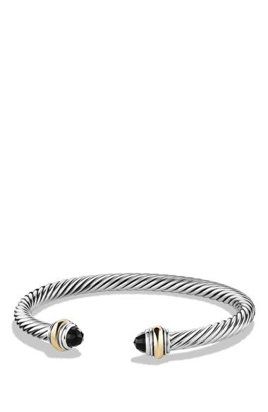 Free Shipping And Returns On David Yurman Cable Clic Bracelet With Gold At Nordstrom Sterling Silver 14 Karat Yellow