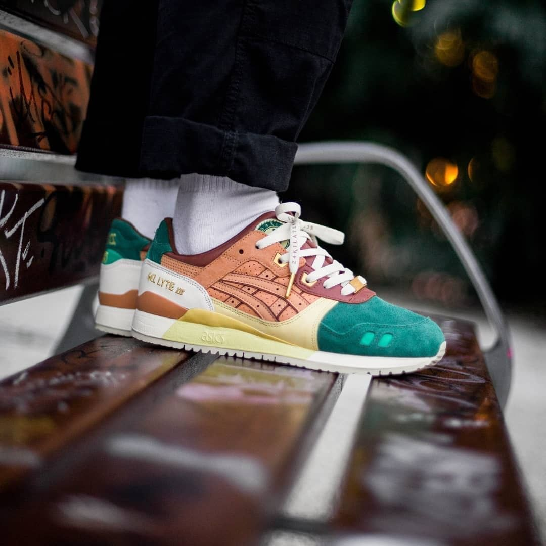 competitive price a4c9a d3771 Asics x 24 Kilates Gel Lyte III « Express » | shoes | Gel ...