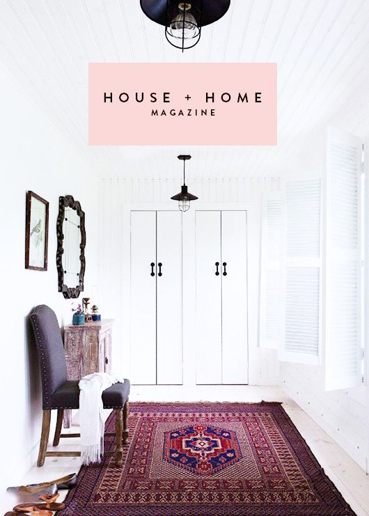 inspiration from house + home. / sfgirlbybay