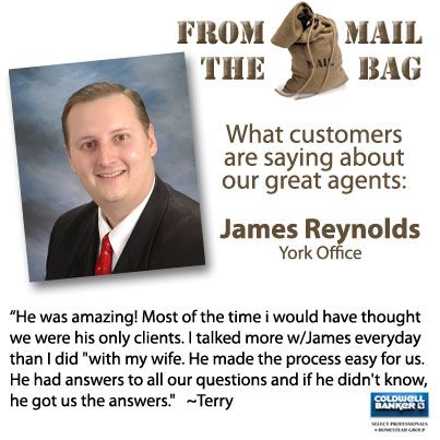 York County PA real estate agent James Reynolds was AMAZING!