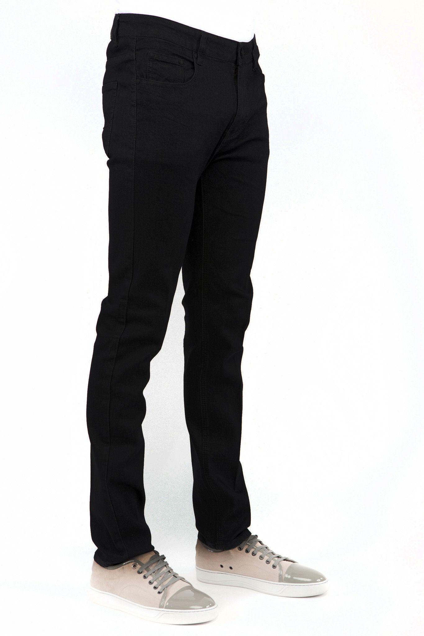 6531bf81 Jet Black Skinny-Stretch Jean (714) in 2019 | Products | Black denim ...