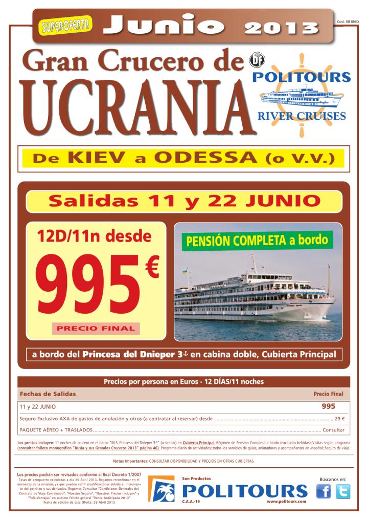 Gran Crucero de Ucrania, salidas 11 y 22/06 (12d/11n) p.f. 995€ - http://zocotours.com/gran-crucero-de-ucrania-salidas-11-y-2206-12d11n-p-f-995e-4/