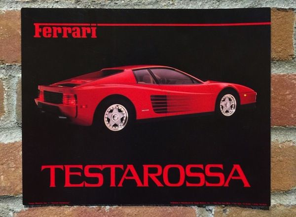 Pin By Alexander On Love Dorm Room Posters Ferrari Testarossa Room Posters
