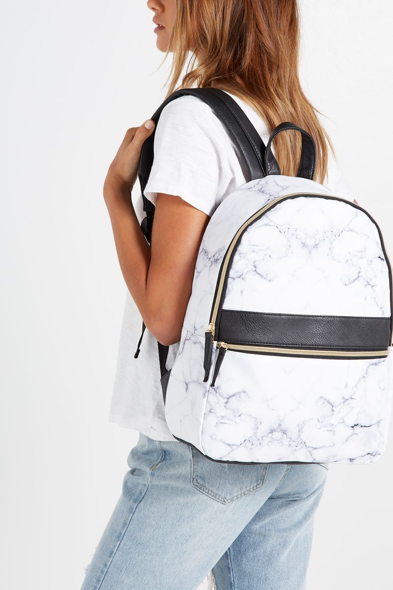 c7254a71c9e Core Backpack, MARBLE & BLACK | Interior/Decor/Stationary ...