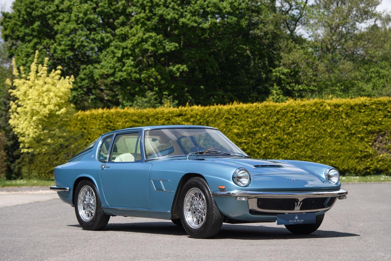 1965 Maserati Mistral - 3700 Coupe - European Delivered ...