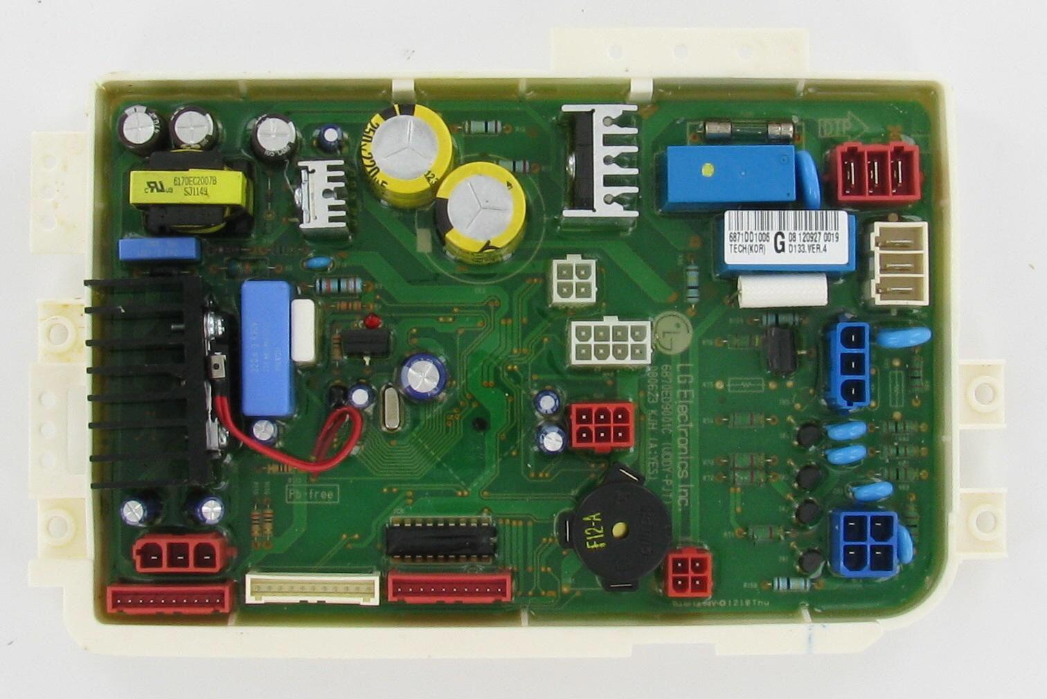 Lg 6871dd1006g Dishwasher Pcb Assembly Main Control Board Boards Broken Appliance Dishwasher