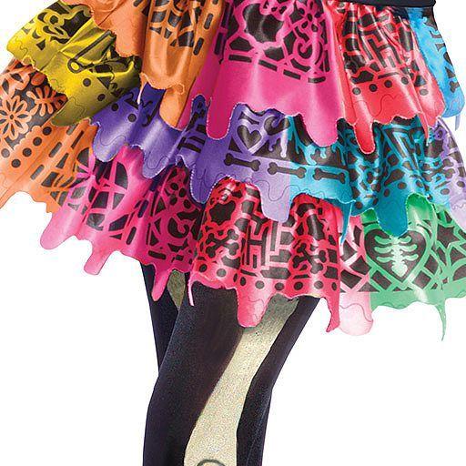 girls skelita calaveras monster high costume - Skelita Calaveras Halloween Costume
