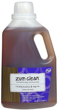 Zum Clean Laundry Soap Frankincense Myrrh Makes The Yummiest