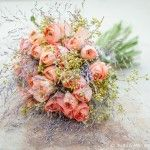 Flowers for the Bride, Groom and Attendants   Zita Elze Flowers