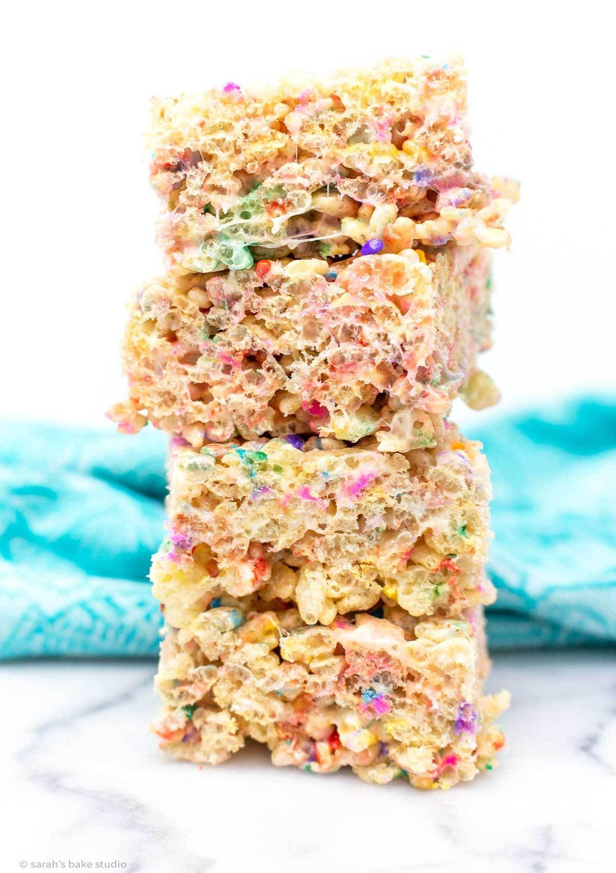 Confetti Rice Krispies Treats #ricekrispiestreats