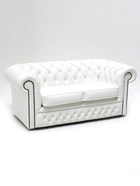 Superb White Chesterfield Sofa Two Seater | Apres Ski Party Theme | Apres Ski  Party Theming Hire | Event Prop Hire