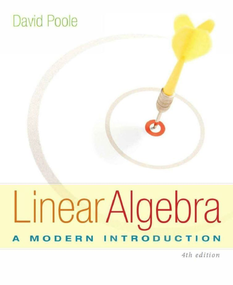 Linear Algebra A Modern Introduction Pdf