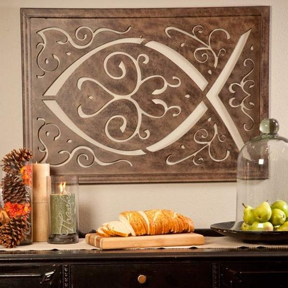 A Modern Take On Christian Fish Symbol By Jeanne Winters Our Home