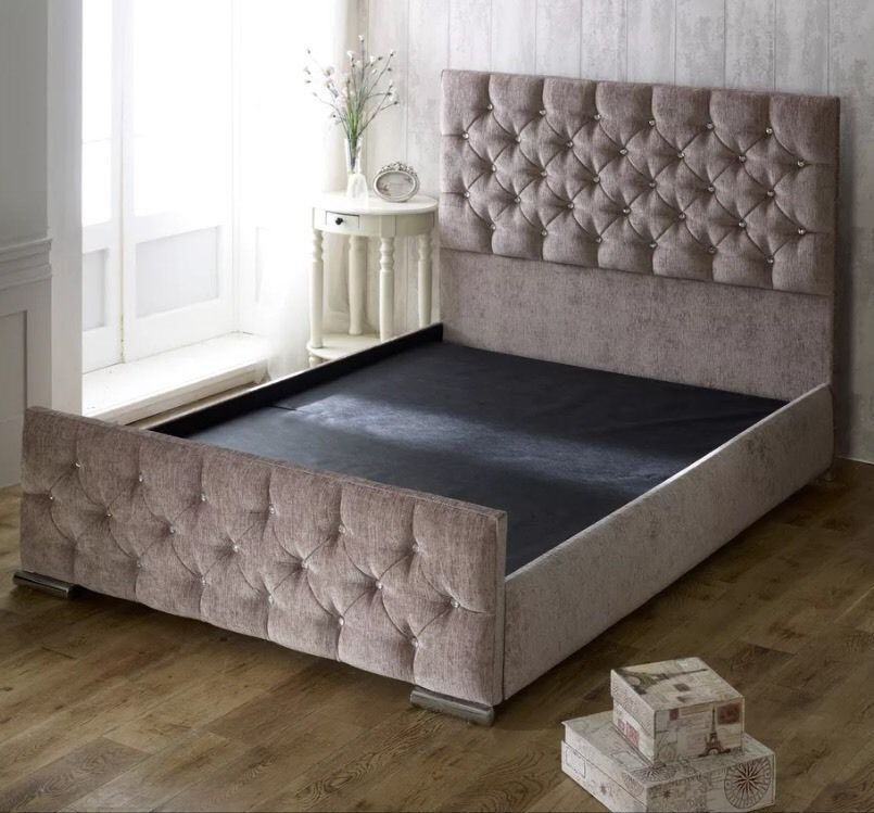 Double Bed Frame For Sale Brand New Wimbledon London Gumtree Doublebedsforsale Cheap Bed Frame Bed Frames For Sale Upholstered Bed Frame