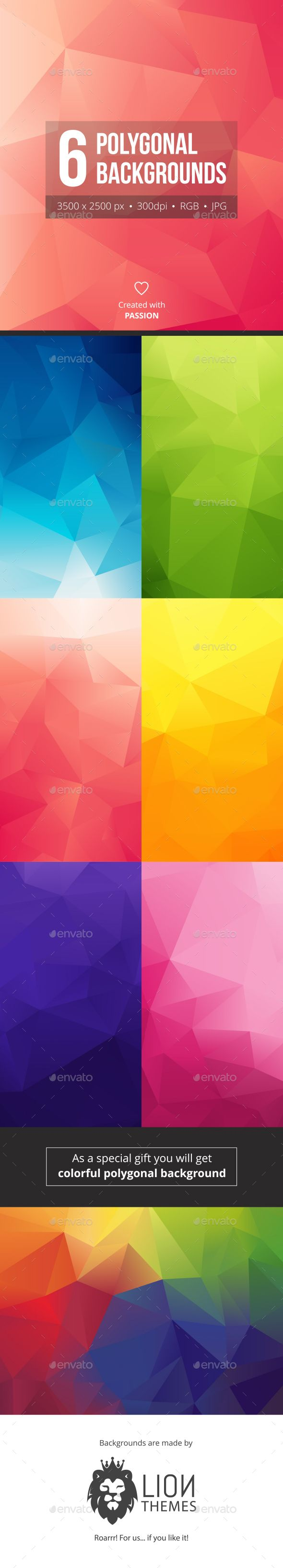 Low Poly Backgrounds - Download…