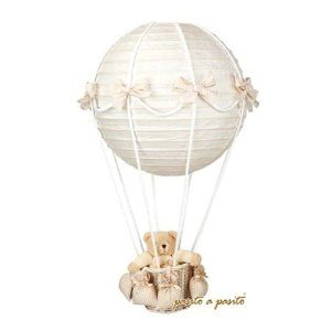 Baby Und Kinderzimmerlampe Heissluftballon Mit Barchen Zukunftige