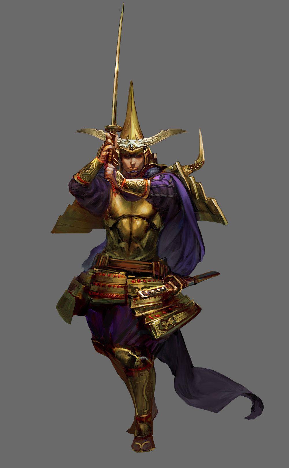 #characterconcepts Data Datoki - Stranger Of Sword City