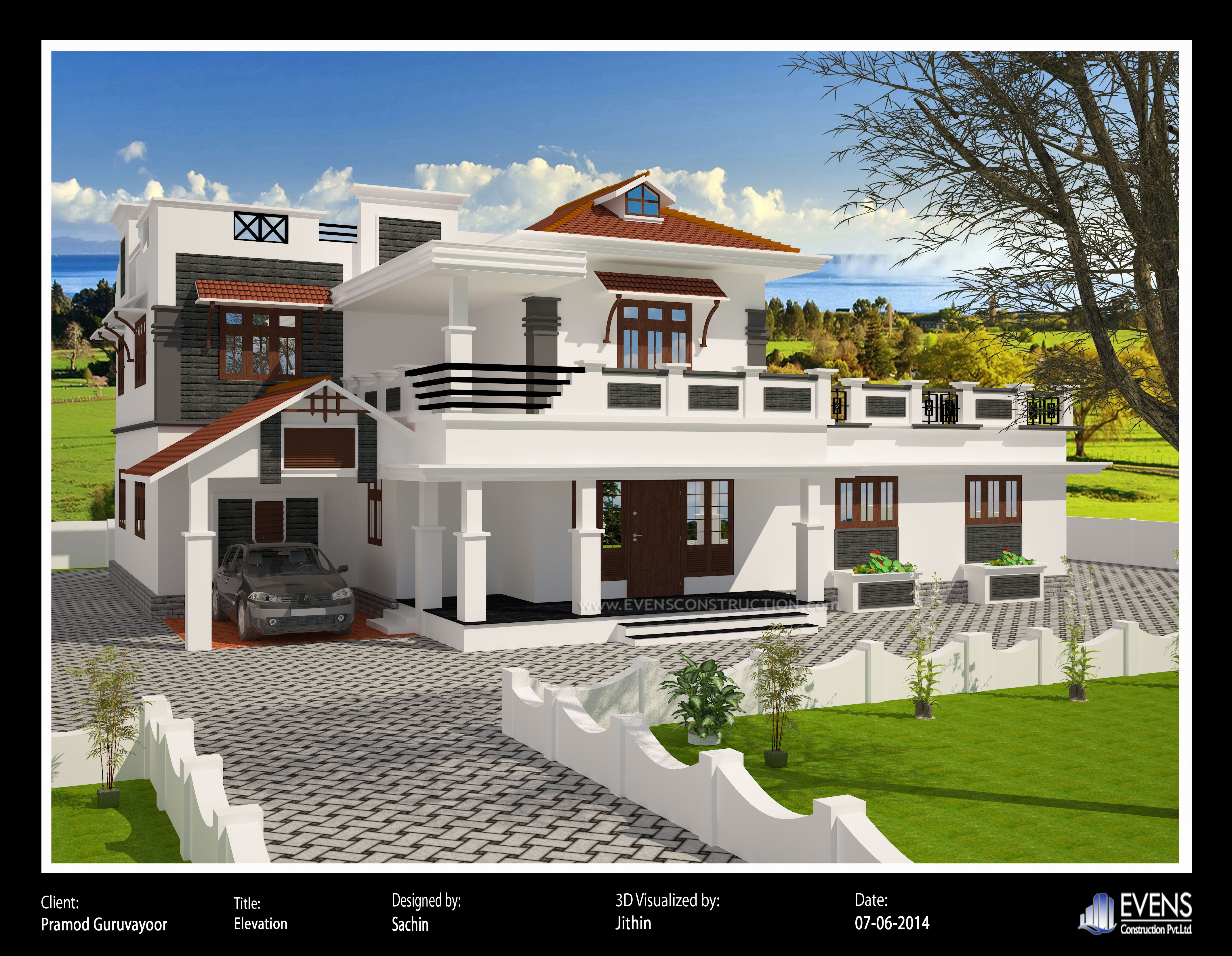 Pin By Arun On Ideas For The House Beautiful House Plans Bungalow House Design House Design