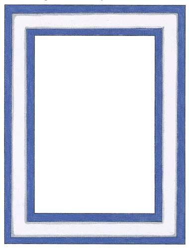 Transparent Frames And Borders Blue White Border Frame
