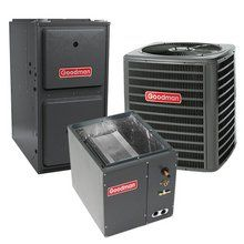 100 000 Btu 96 Gas Furnace And 3 Ton 13 Seer Air Conditioner Gmss961005cn Gsx130361 Capf3636c6 Heating Systems Gas Furnace Heat Pump System