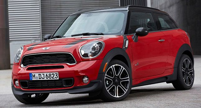 Mini Cooper Countryman Or Paceman Red Black With Roof Rack
