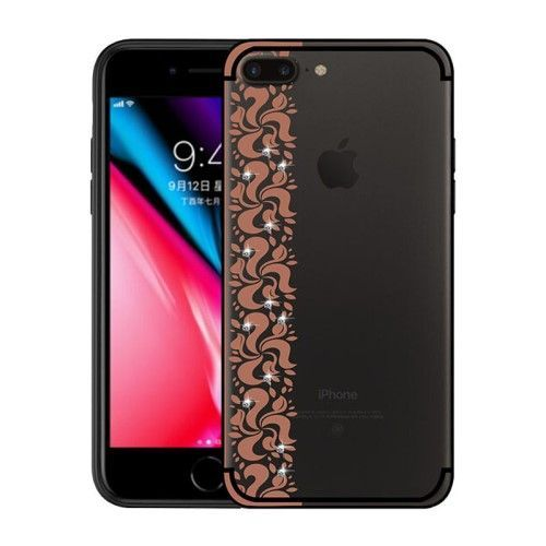 coque iphone 8 plus rose strass