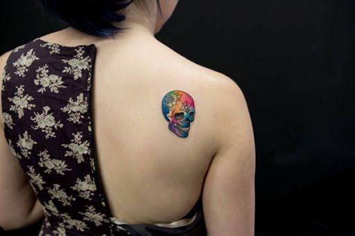 O arco-iris do cranio #tattoo #tattoos #tattooed #inked #tats #ink #tatoo #tat #tattooart #tattooartwork #tattoodesign #tattooartist