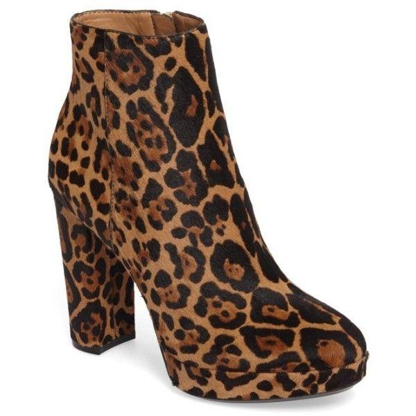 Women's Martha Leopard Ankle Boot