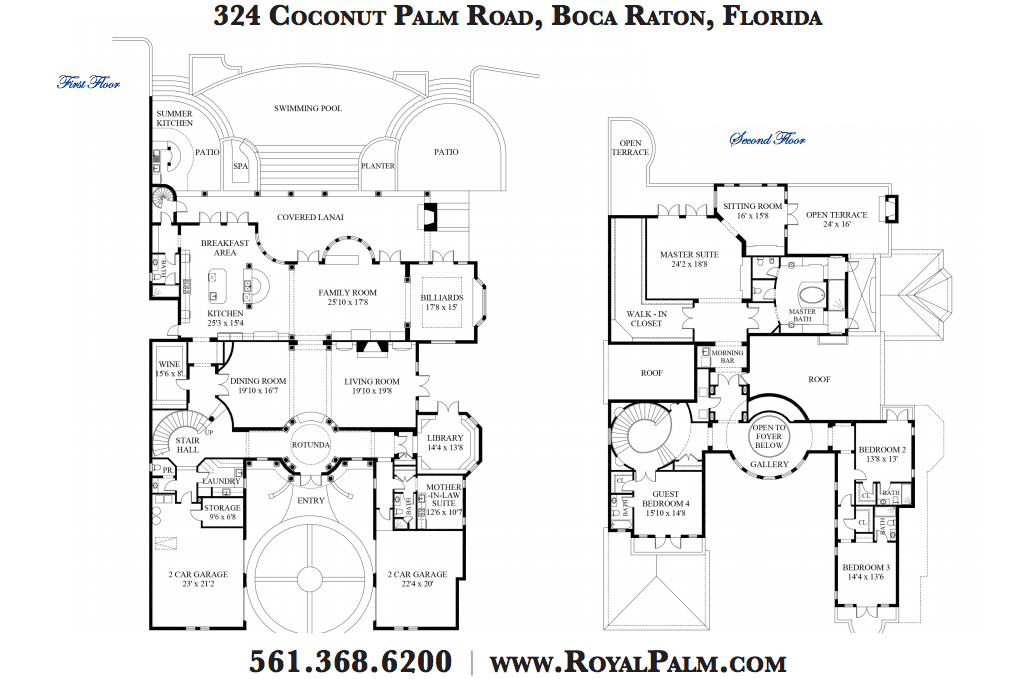 Floor Plans to James Mega Mansion Design Homes of the Rich The