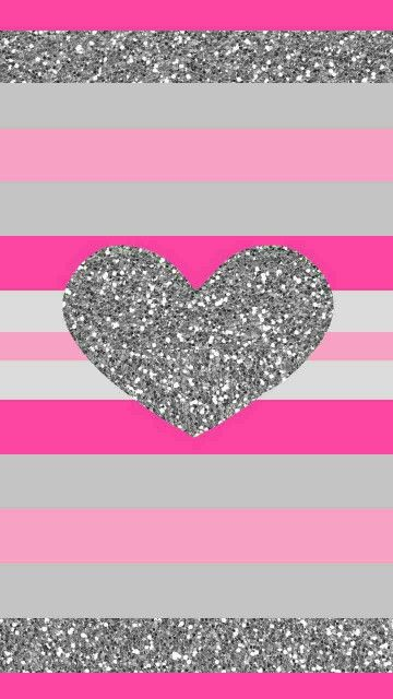 Here Is A Cute Wallpaper For Girls Who Are Into Glitter Pink And