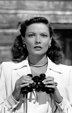 Gene Tierney in 'Leave Her to Heaven', 1945.