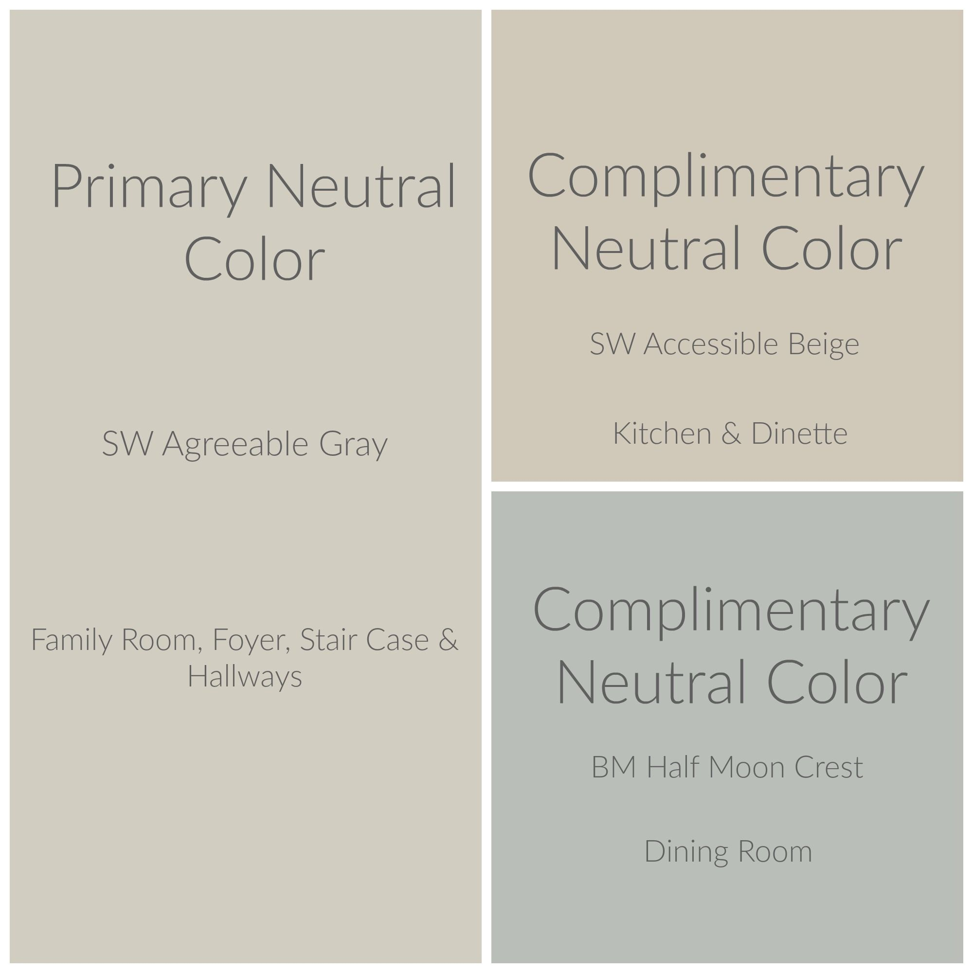 Great Tips To Create A Whole House Color Palette. Make A Plan You Love And Can