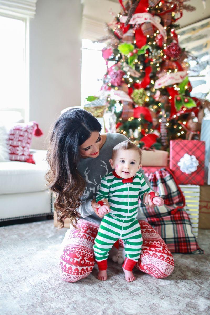 Family Christmas Pajamas Photoshoot.Holiday Pajamas For The Whole Family Online Shopping