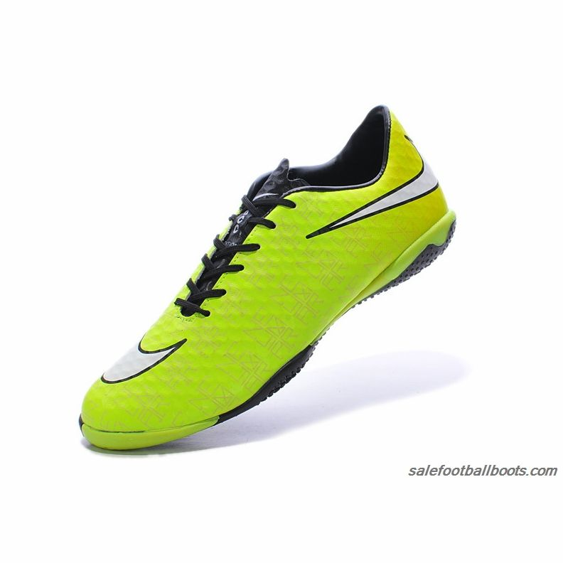 2014 Nike Hypervenom Phantom IC Neymar Green White Black $61.99