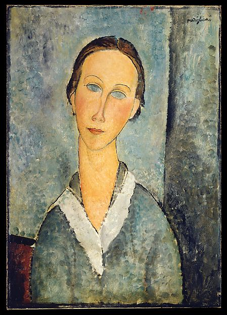 Amedeo Modigliani Girl In A Sailor S Blouse The Met