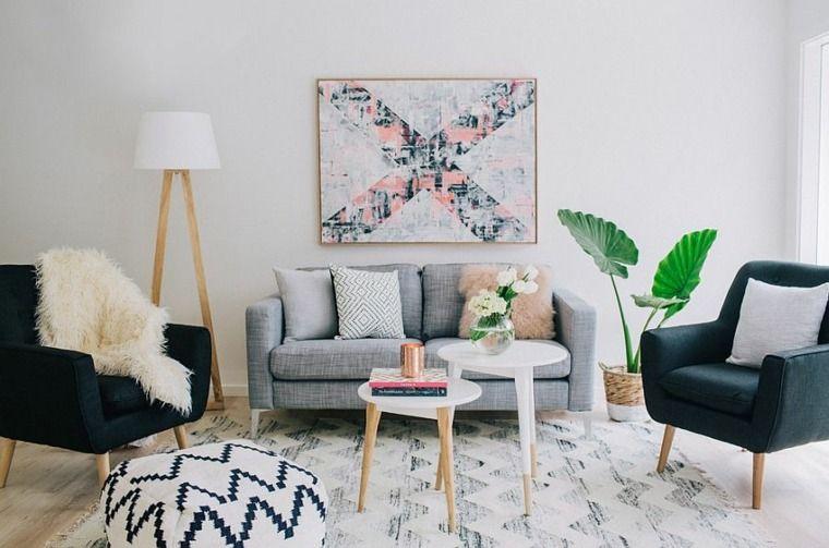Deco Salon Style Scandinave | Idee Deco Salon Le Salon En Style Scandinave Home Stuffs