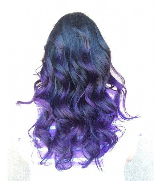 40 Versatile Ideas Of Purple Highlights For Blonde Brown And Red Hair Perfect Hair Color Purple Hair Highlights Purple Hair