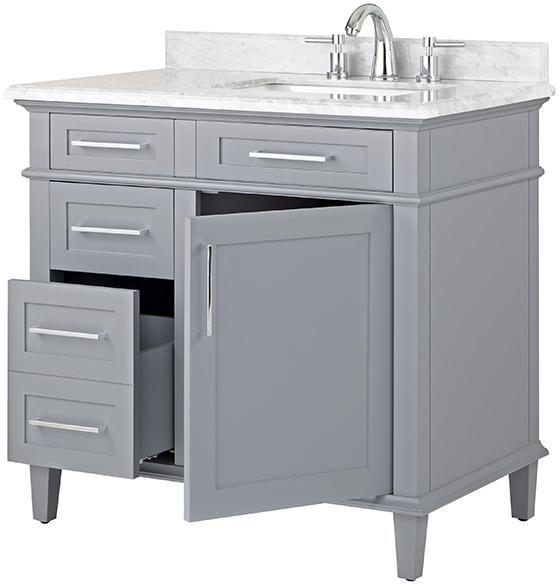 Home Depot Sonoma Vanity: Home Decorators Collection Sonoma 36 In. W X 22 In. D Bath