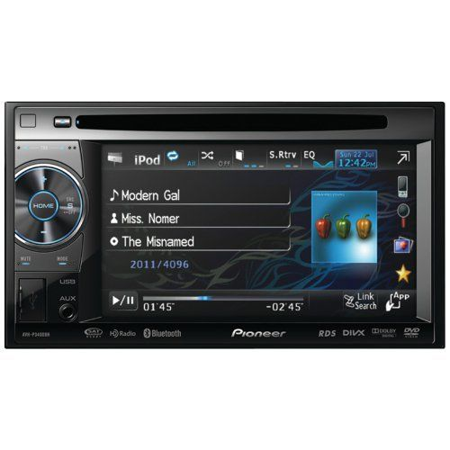 Pioneer AVH-P3400BH 2-DIN Multimedia DVD Receiver With 5.8