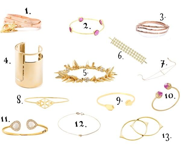 Arm Candy: FAVORITE gold & rose gold pieces out right now! - No Rebecca for a Year