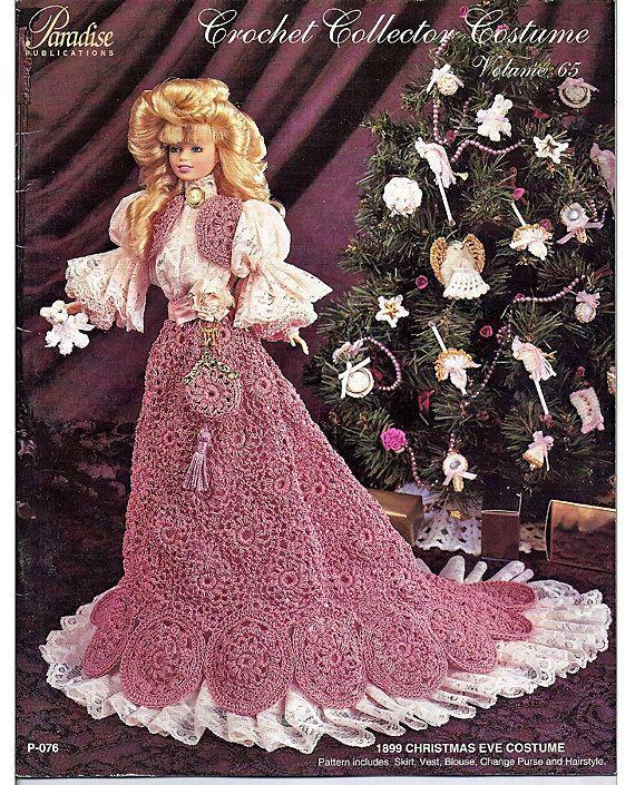 1899 Christmas Eve Costume Crochet Collector Costume Volume 65 ...