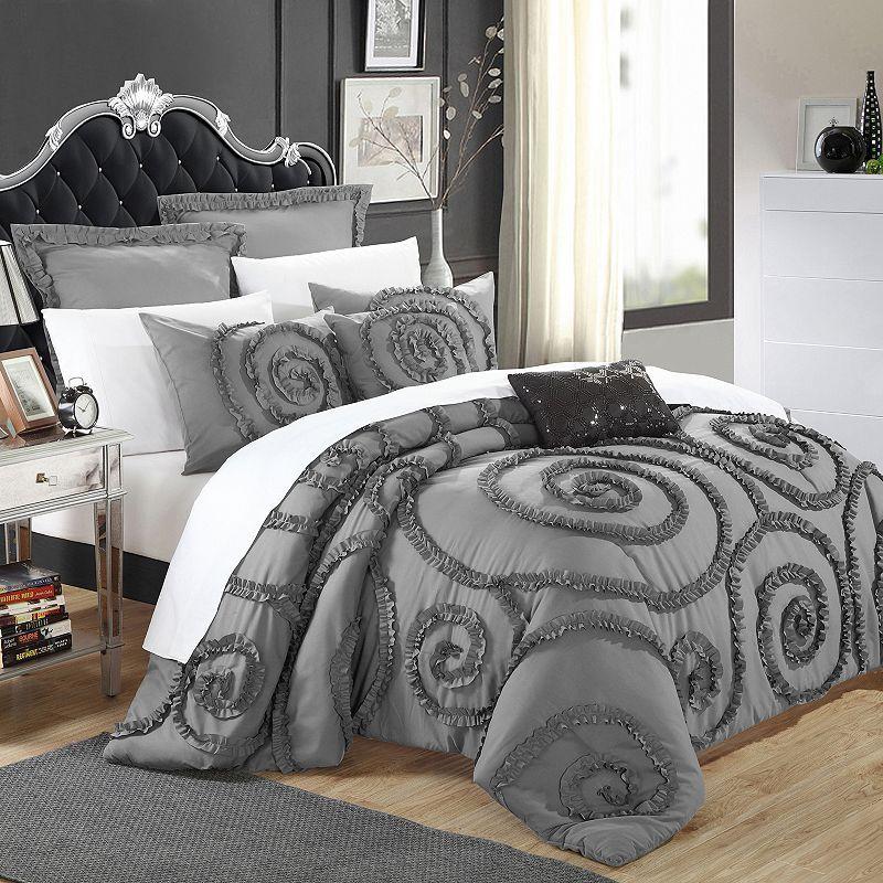 Rosalia 7 Pc Comforter Set Bedding Sets Comforters Comforter Sets