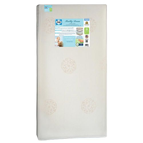 Sealy Healthy Dream Organic Cotton Cool Gel Crib And