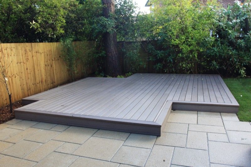 Non combustible deck floor treads high quality wood for Composite decking wickes
