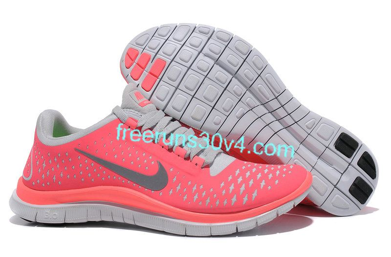 Womens Nike Free 3.0 V4 Hot Punch Reflective Silver Pro Platinum Shoes-  WHAT ! ! ! ! WHY DID I NOT KNOW ABOUT THIS EARLIER  d0ab4e031b