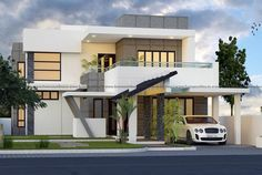 Modern two storey home