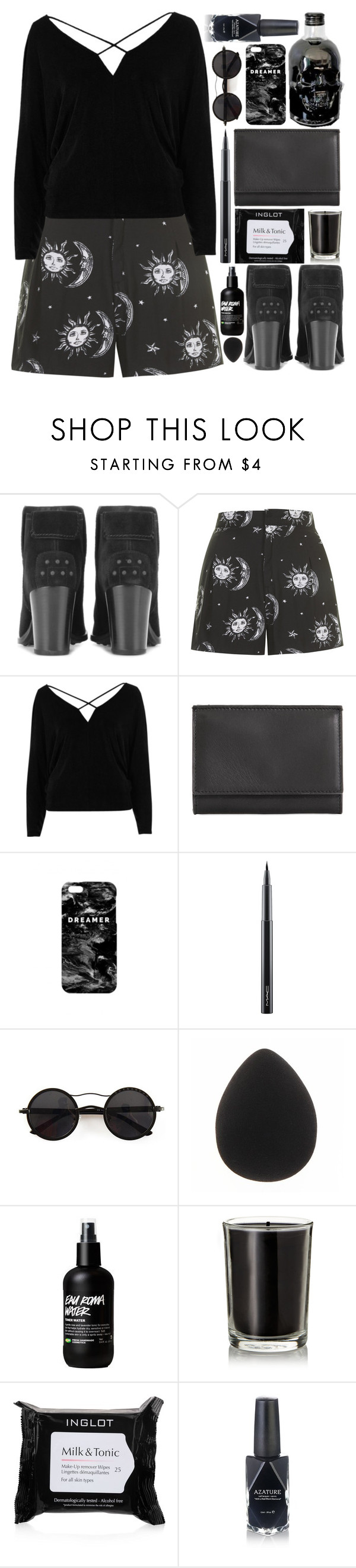 """Milk & Tonic"" by ladyvalkyrie ❤ liked on Polyvore featuring Tod's, Motel, River Island, Maison Margiela, Mr. Gugu & Miss Go, MAC Cosmetics, Chicnova Fashion, Coqui Coqui, Inglot and Azature"
