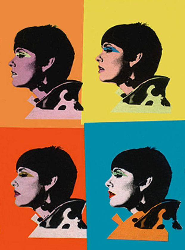 Barbara Feldon, Agent 99. 1966 cover TV Guide - Andy Warhol
